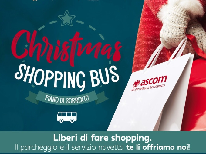 Imbuca il Coupon e Christmas Shopping Bus